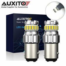 2X AUXITO 1157 BAY15D 23SMD LED Reverse Brake Daytime Running Light Bulb 6500K
