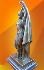 ART DECO BRONZE ANTINEA STATUE SIGNED Chiparus FIGURE HOT CAST SCULPTURE