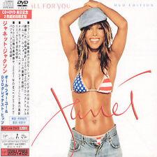 All for You [Bonus DVD] by Janet Jackson (CD, Dec-2001, Virgin)