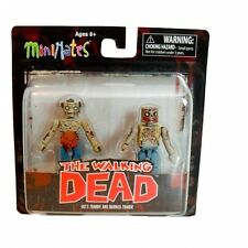 THE WALKING DEAD GUTS ZOMBIE & BURNED ZOMBIE MINIMATES BRAND NEW MINI FIGURE