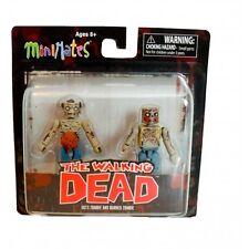 Diamond Select Toys Walking Dead Minimates Series 1 Guts Zombie Burned Zomie
