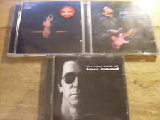 Lou Reed [3 CD Alben] Ecstasy +  The Very best of + In Concert