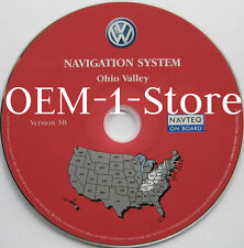 2004 VW VOLKSWAGEN TOUAREG NAVIGATION MAP CD 6 OHIO VALLEY OH KY TN PA NY WV IN