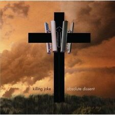Killing Joke ‎– Absolute Dissent CD Spinefarm Records ‎– 00602527498539