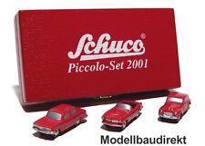 Piccolo Set 2001 Limited Edition Volvo 544 BMW 507 & 1500 Schuco 01714 NEU & OVP
