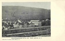 A View of the Knickerbocker Manufacturing Company, Port Jervis NY 1907