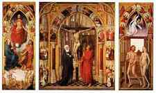 Weyden Triptych Of The Redemption A4 Print