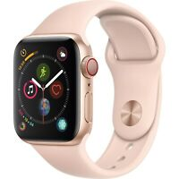 Apple Watch Series 4 GPS + Cellular 44mm Gold Case with Gold Band MTV02LL/A