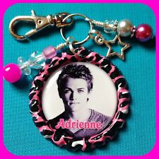Personalized HUNTER HAYES Bottle Cap Pendant Name Necklace, Jewelry, Zipper Pull