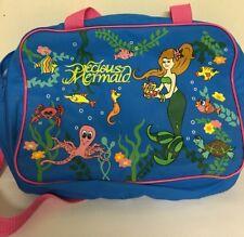 Precious Little Mermaid Bag Ocean Shell Half Fish Tail Turtle Travel Luggage Sea