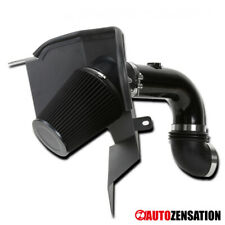 For 2003-2007 Dodge Ram 2500 3500 5.9L I6 Glossy Black Cold Air Intake+Filter