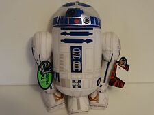 STAR WARS R2-D2 Plush / Sounds when Squeezed / Applause / Complete with Tags
