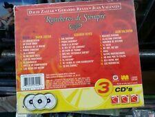 Gerardo Reyes, Juan Valentin, David Zaizar 3CDS Nueva Sellada Caja