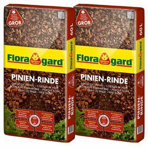 Pinienrinde Pinienmulch Rindenmulch Öko Fein 8-15mm 70l x 18 Sack 1260l Palette