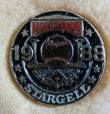 1988 Baseball Hall of Fame Press Pin Stargell
