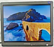"""Samsung SyncMaster 931B 19"""" Monitor Display LCD TFT DVI VGA Grade B No Stand"""