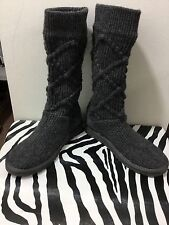 Ugg grey knit ladies size 7 boots