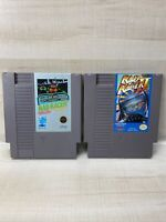Rad Racer 1 and 2 Nintendo Entertainment System NES Cartridge Only Lot Of 2