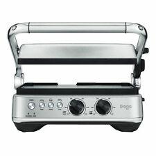 Sage Kontaktgrill -  The BBQ & Press Grill gebürsteter Edelstahl Tischgrill