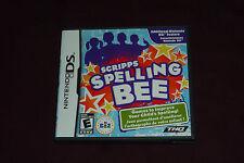 Scripps Spelling Bee (Nintendo DS, 2010) COMPLETE