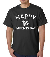 Men's Happy Parents Day Shirt Gift Present For Mom Dad I Love My Parents T-Shirt