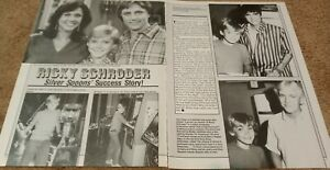 RICKY SCHRODER CENTERFOLD CLIPPING POSTER FROM MAGAZINE 80'S SILVER SPOONS