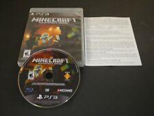 Minecraft -- PlayStation 3 Edition (Sony PlayStation 3, 2014)