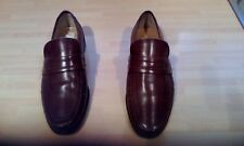 CLARKS MENS BROWN EXTRA WIDE LOAFERS SHOES SIZE 9 - H