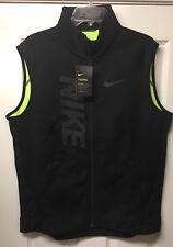 New! Nike Therma Sphere Training Vest szXL tech fleece jacket knit 807763 010