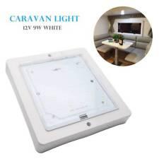 12V Interior LED Roof Light 6000K White for Motorhome Caravan Camper Van Boat