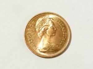 1971 Elizabeth II Half New Pence UNC - Bag Marks First Decimal Issue MORE  #K64