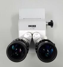 Carl Zeiss f=170 Surgical Microscope Binoculars with 10 x 22B  Eye Pieces
