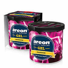 1 x Air Freshener Car Scent Areon Gel Pasion Perfume Car Home Office 80 gr.