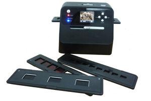 JENDIGITAL 4in1 Scanner mit Zubehoer Set für Fotoalben Bilder Foto Dias Negative