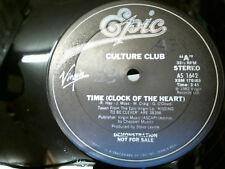 """Culture Club de Tiempo (reloj del corazón) 12"""" Single Demo Rara!"""