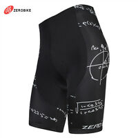 Mens Cycling Shorts Road Bike Short Wear 3D Padded Biking Clothing Tights Black