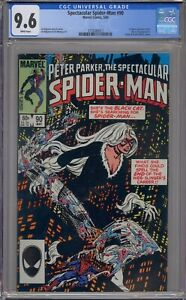 SPECTACULAR SPIDER-MAN #90 CGC 9.6 1ST BLACK COSTUME IN TITLE