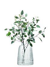 LSA International Pleat Vase H26cm Clear