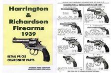Harrington & Richardson Arms 1939 Stoeger Gun & Part Catalog