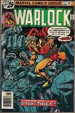 "WARLOCK (ADAM) #13 MARVEL 06/76 "" HERE DWELLS THE STAR-THIEF!"" JIM STARLIN VF"
