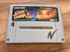 Super Famicom: STREET FIGHTER 2 TURBO     (Super nes Japan)