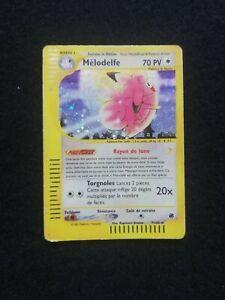 Carte Pokémon - Mélodelfe Holo 7/165 Expedition Wizard FR