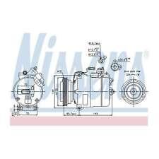 Fits Skoda Superb 3U4 2.0 TDI Genuine OE Quality Nissens A/C Air Con Compressor