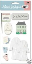 OUR FIRST HOME - I DO Wedding Stickers  JOLEES BOUTIQUE