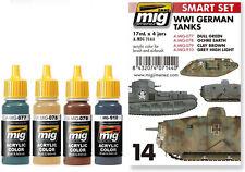 Ammo Of Mig #A.MIG 7144 WWI German Tanks