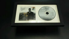BRENDON URIE Panic at the Disco SIGNED + FRAMED Too Weird To Live CD