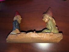 Tom Clark Gnome 2 gnomes on log
