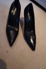 Prada black pointed stiletto's sz 37/UK 4