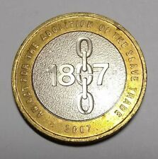 Abolition of Slavery £2 coin (2007). Good condition.