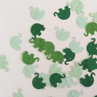 Martha Stewart Elephant Punch Scrapbooking 40 Pcs Cardstock Party Craft Confetti